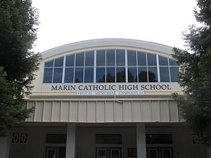 Marin Catholic High School - Image: Marin Catholic High School