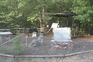 National Register of Historic Places listings in Cleveland County, Arkansas - Image: Mark's Mill Battlefield