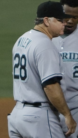 Mark Wiley - Wiley with the Florida Marlins in 2009
