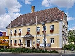 Rathaus von Markranstädt bei Leipzig