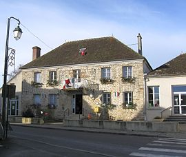 The town hall in Marles-en-Brie