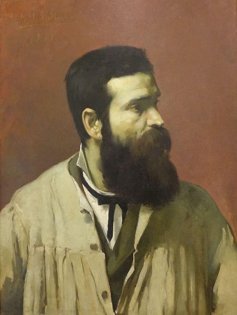 Portrait de Soares dos Reis par Marques do Oliveira