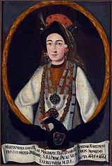 Portrait of Maria Radziwill nee Lupu.