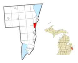 Marysville Michigan Map.Marysville Michigan Wikipedia