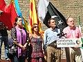 Mas, Colom, Candini acte nous catalans a Fossar Moreres.jpg