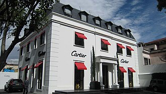Cartier (jeweler) - Cartier on Mexico City's Avenida Presidente Masaryk