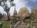 Masrur rock cut temple Kangra backside.jpg