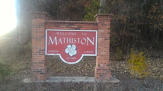 Mathiston, Mississippi Town in Mississippi, United States