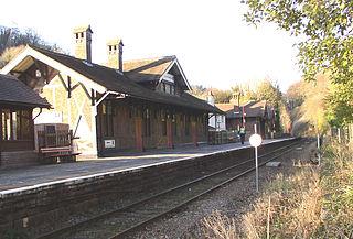 Matlock Bath railway station Railway station in Derbyshire, England