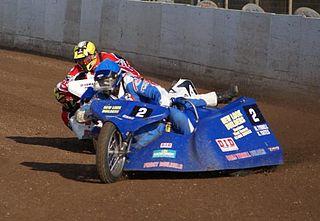 Sidecar speedway