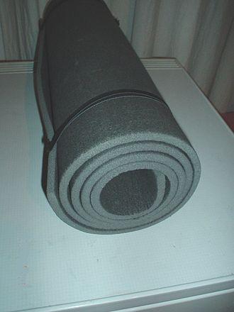 Foam rubber - Image: Mattress