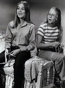 Maureen McCormick Eve Plumb Brady Bunch 1972