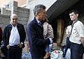 Mauricio Macri visito la Usina del Arte donde se recibieron donaciones (8637858106).jpg