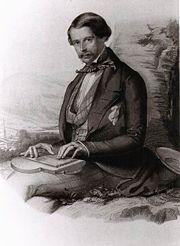 Az ifjú Max Emánuel herceg (litográfia)