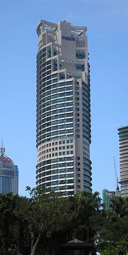 The Maxis Tower.