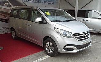 SAIC Motor - Image: Maxus G10 China 2015 04 12