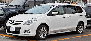 Mazda MPV A minivan manufactured by Mazda