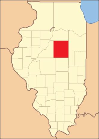 McLean County, Illinois - Image: Mc Lean County Illinois 1830