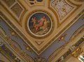 Medalló amb Venus i amoret al sostre del saló de ball, saló de ball, palau del marqués de Dosaigües.jpg