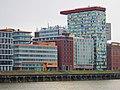 MedienHafen in Düsseldorf, z. B. Blick auf das Colorium oder das Courtyard Marriott - panoramio.jpg
