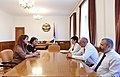 Meeting with the President of the Republic of Artsakh Bako Sahakyan.jpg