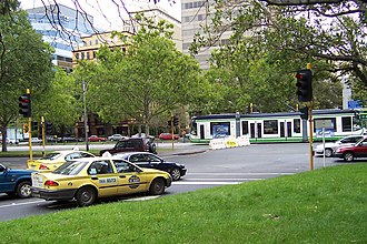 Director of Public Transport -  Taxis and trams in Melbourne. Taxis in Victoria were regulated by the Victorian Taxi Directorate, a business unit previously located in the office of the Director of Public Transport.