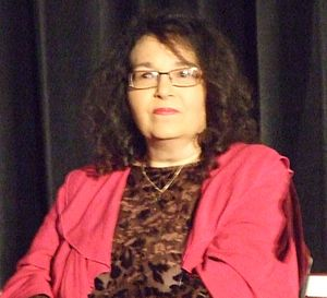Melinda Gebbie - Melinda Gebbie at The Amazing Meeting in London in 2010