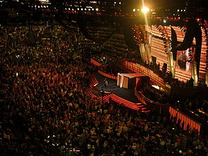 Melissa Etheridge - Etheridge performs during the third night of the 2008 Democratic National Convention in Denver, Colorado.