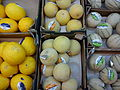 Mellons from left -Yellow, Galia, Cantaloupe.jpg
