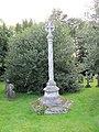 Memorial in the church yard - geograph.org.uk - 1455400.jpg