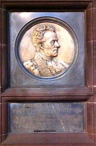 William Jacobson - Memorial to William Jacobson in Chester Cathedral