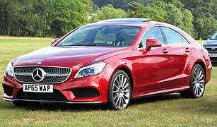 Mercedes-Benz CLS 350d 2987cc registererd January 2016.jpg