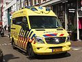 Mercedes Ambulance unit 13-108 on the Haarlemmerdijk pic1.JPG