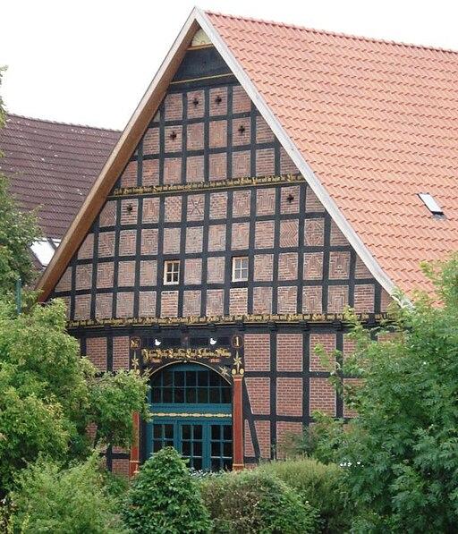 Messenkamp Bauernhaus Wappen