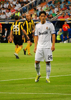 Mesut Özil - Özil playing for Real Madrid in 2010