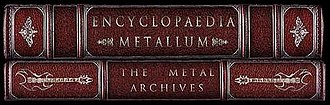 Encyclopaedia Metallum - Image: Metal archives