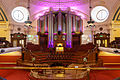 Methodist Central Hall - Great Hall with pipe organ.jpg