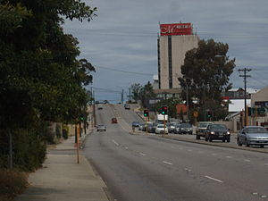 Canning Highway - Canning Highway running through Kensington/South Perth