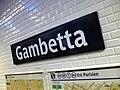 Metro de Paris - Ligne 3 - Gambetta 07.jpg