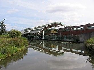 Rotterdam Metro - Troelstralaan metro station
