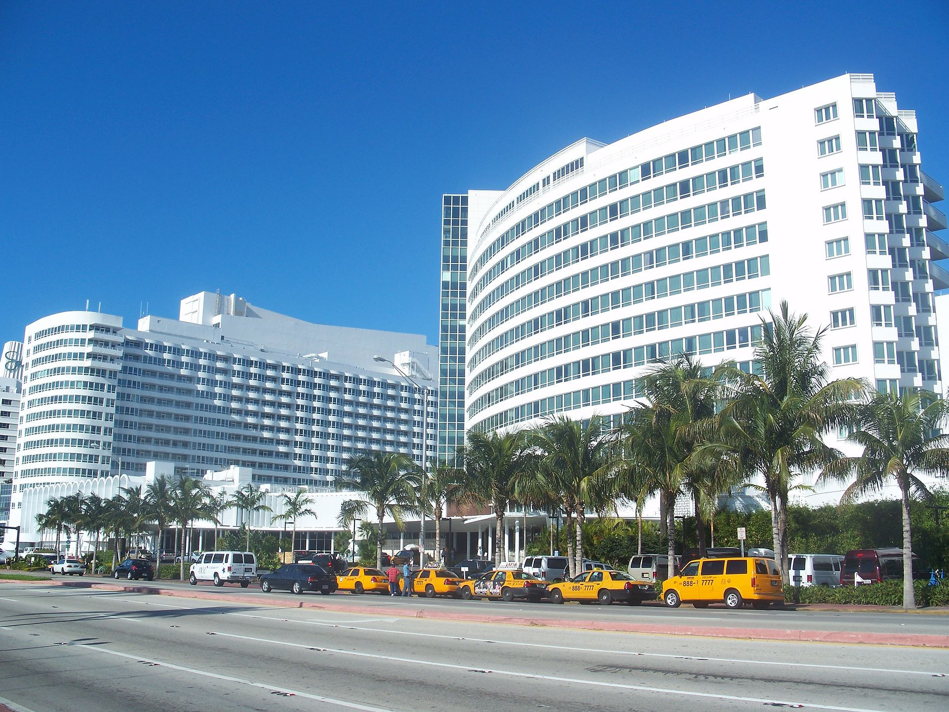 The Fountainbleau Hotel Miami Beach