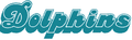 Miami Dolphins wordmark (1980 - 1996).png