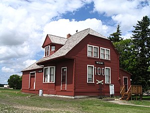 Rural Municipality of Thompson - Miami Railway Station
