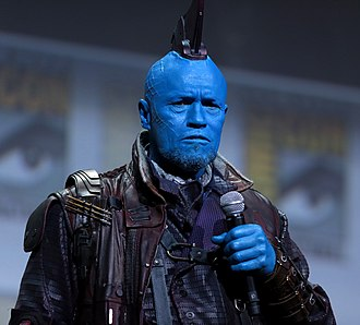 Michael Rooker - Rooker at the 2016 San Diego Comic Con International, in character as Yondu from Guardians of the Galaxy