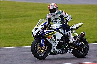 Michael Rutter (motorcyclist) - Image: Michael Rutter BSB Snetterton 2009