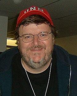 Komikern och sanningsvridaren Michael Moore