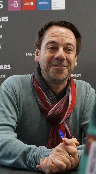 Michel Bussi - Michel Bussi at Salon du Livre de Paris