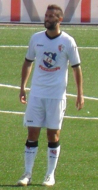Michele Rinaldi (footballer, born 1987) - Image: Michele Rinaldi (cropped)