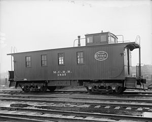 Michigan Central Railroad - A Michigan Central caboose.