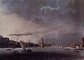 Microcosm of London Plate 104 - A View of London from the Thames, Taken Opposite the Adelphi.jpg
